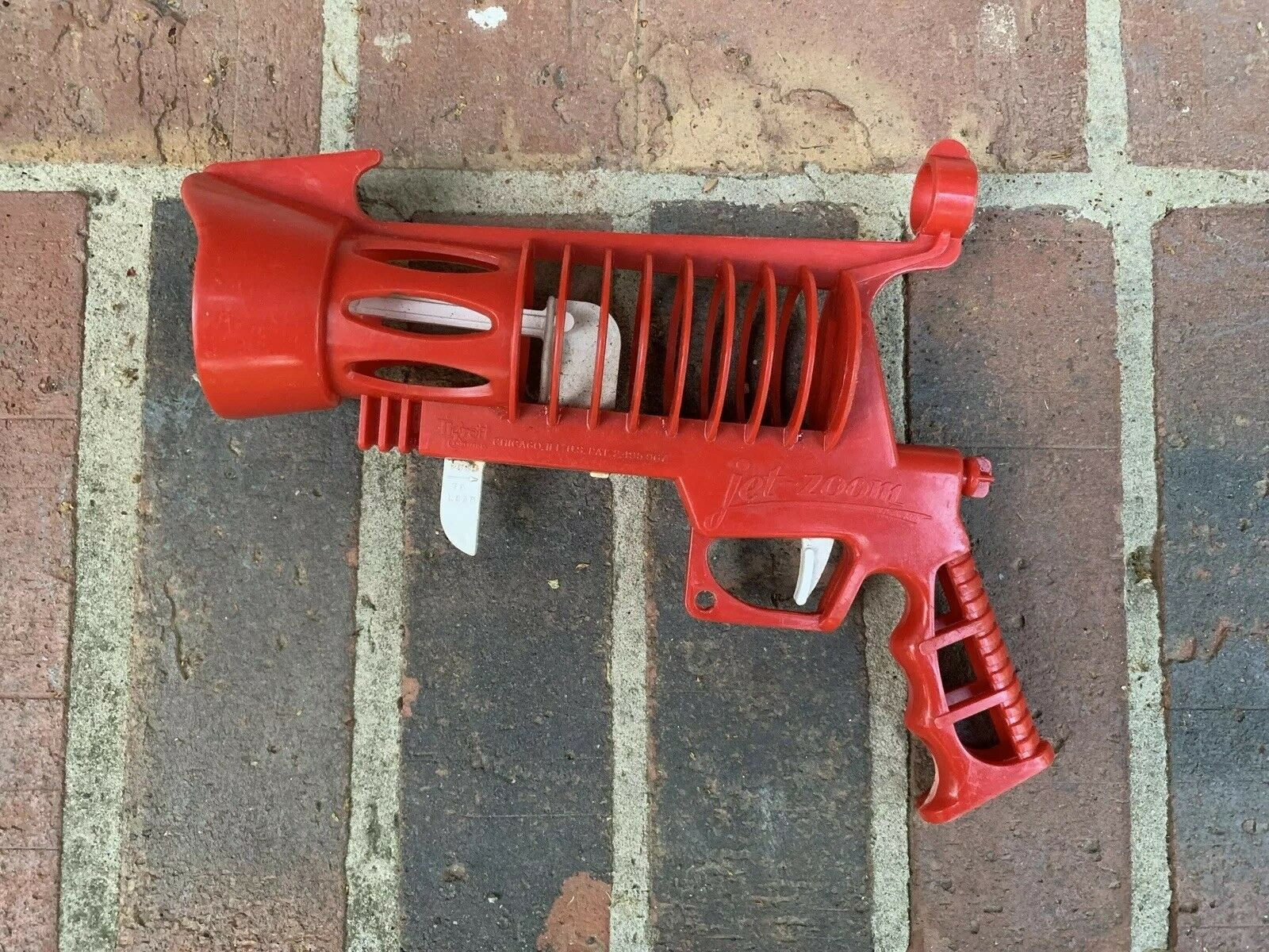 TIGRETT 1952 JET ZOOM SPACE GUN   WORKING Vintage Toy