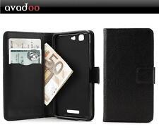 avadoo® Mobistel Cynus F9 Flip Case Schutzhülle Tasche Magnet Schwarz