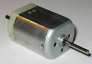 Mabuchi FK-280 Motor - 10 to 15 VDC - Model Train Motor - 2 mm Shaft Diameter