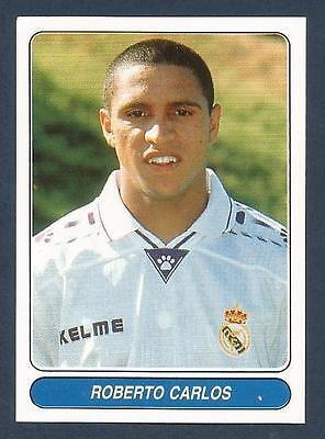 #110-REAL MADRID /& SPAIN-RAUL GONZALEZ PANINI EUROPEAN FOOTBALL STARS 1997