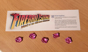 Fireball Island The curse of Vul-Kar 5 Cursed Sapphires