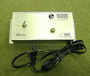 NEW BlonderTongue MVB-25 VHF Distribution Amplifier w// FM Trap Original Box