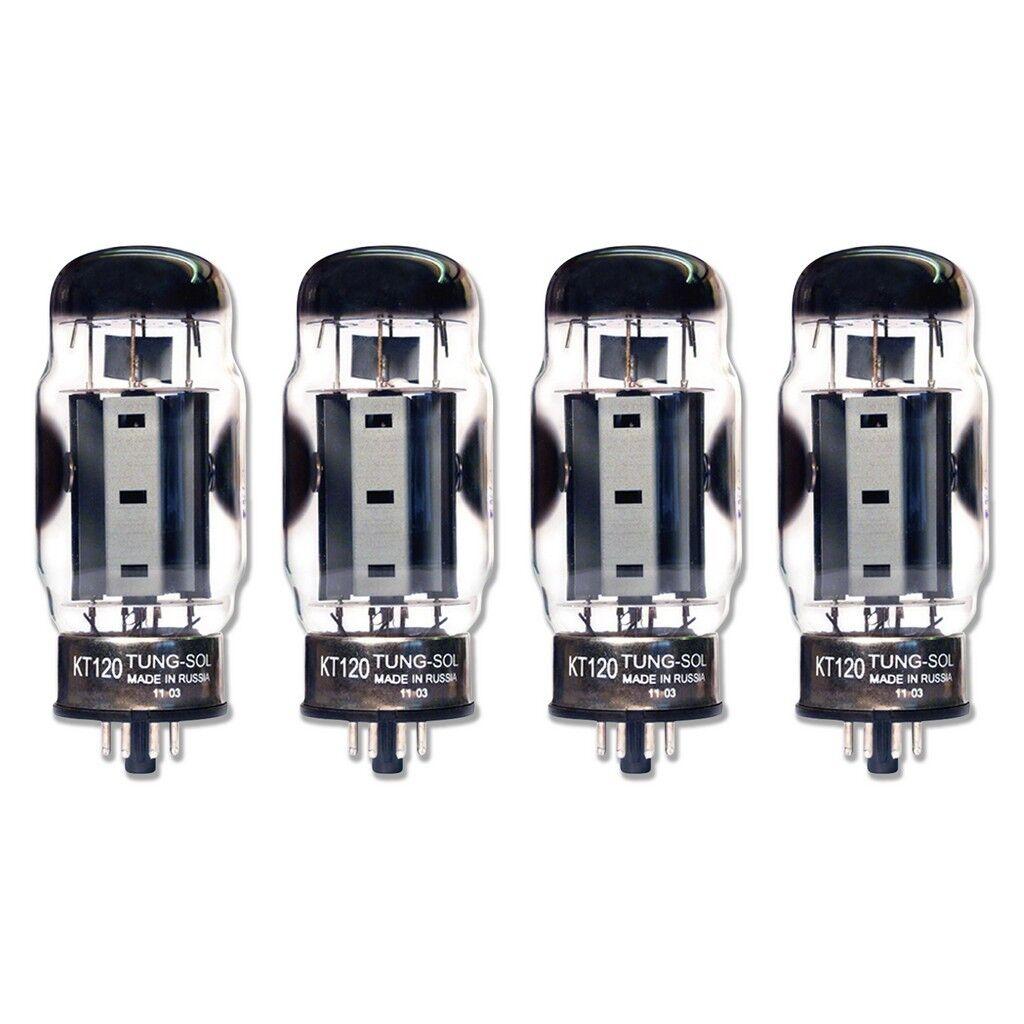 Brandneu Factory Passend Quad (4) Tung-Sol Reissue KT120 KT-120 Vacuum Rohre