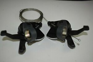 New Shimano Altus SL M315 Trigger Shifters Lever 3x8-speed Set Right+Left