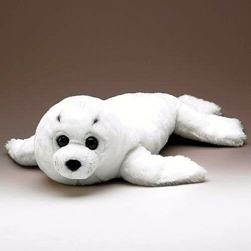 Nuovo 68.6cm 68.6cm 68.6cm Biancaneve Artico Arpa Foca Cucciolo da Wildlife Artists XL 271603