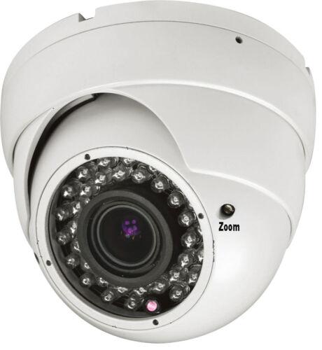 AM 1800TVL 36IR LED 2.8-12mm Varifocal Lens Dome Surveillance Security Camera  4