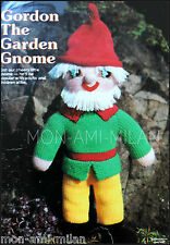 "VINTAGE Knitting Pattern • GARDEN GNOME • DOLL • SOFT TOY • DK 20¾"" TALL • CRAFT"