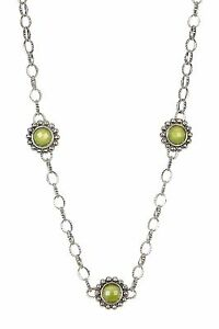 LAGOS-Maya-Green-Serpentine-Doublet-Link-Station-Necklace-in-Sterling-Silver