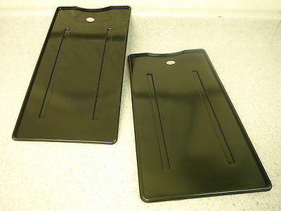 BRIDGEPORT MILL PART, MILLING MACHINE TWO (2) TABLE GUARD & TOTE TRAY NEW!