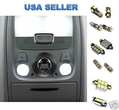 Audi A3 S3 WHTE LED Lights Interior Package Kit 8P - CANBUS ERROR FREE 2006+