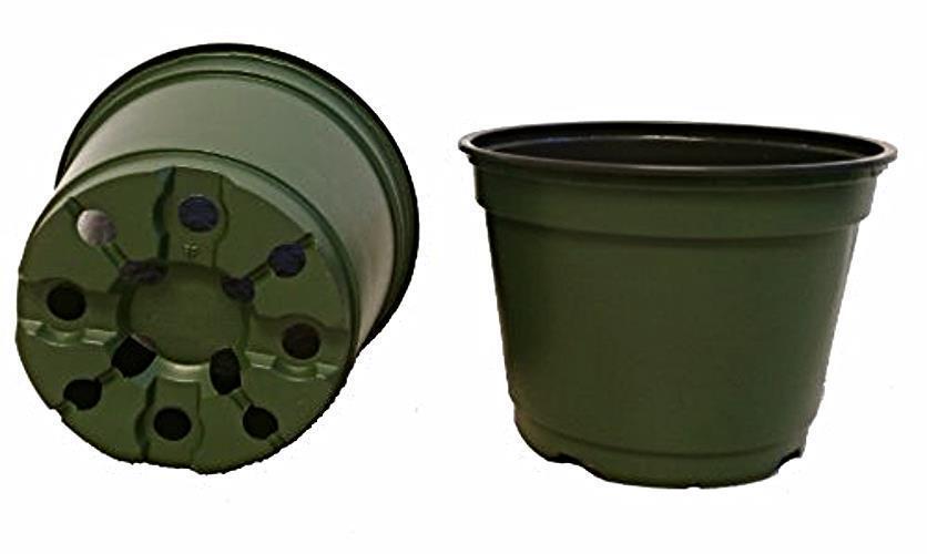 6 Inch Pots, (Qty. 100), 6