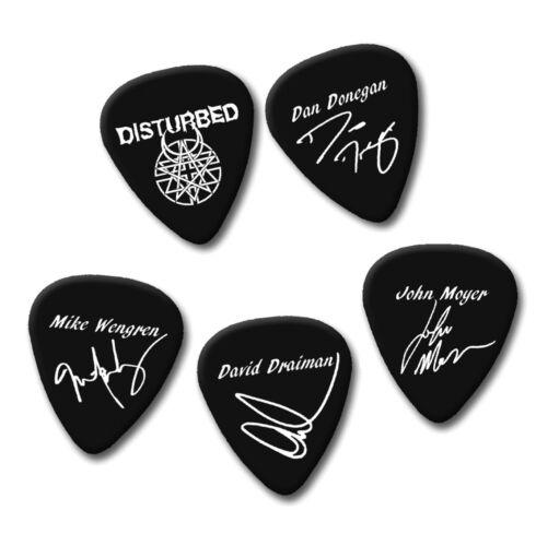 Famous Dan John Mike David signature print plectrum guitar picks picks Disturb