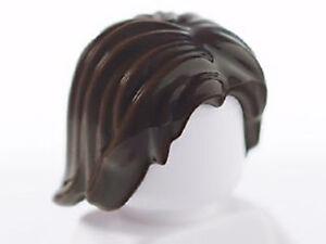 LEGO 2 TOUSLED CENTER PARTING HAIR MALE BOY MAN  MINIFIGURE HAIR NEW