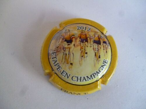 capsule MIGNON Pierre N° 79 à saisir contour jaune tour de France 2012