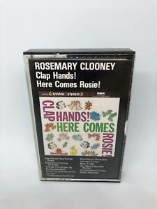 Rosemary Clooney Clap Hands! Here Comes Rosie! Cassette Oh What A Beautiful Morn