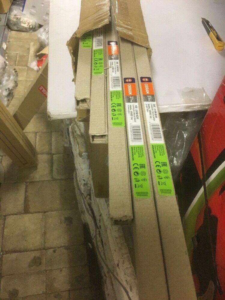 Box Of 20 Osram HE21W 830 Lumilux Warm Weiß
