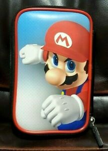 Nintendo 3DS Game Traveler Super Mario System Case