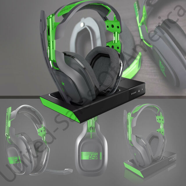 76b7873aa1b ASTRO Gaming A50 Wireless Dolby Gaming Headset + Base Xbox One   PC Black  Green