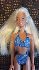 Muñecas Sparkle Beach 1995 Barbie Vintage Superstar cara rara