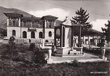 # MASSA D'ALBE: MONUMENTO AI CADUTI E PALAZZO COMUNALE   1970