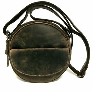 Kleine-Leder-Damen-Tasche-Umhaengetasche-Greenburry-Vintage-used-look-1933-22
