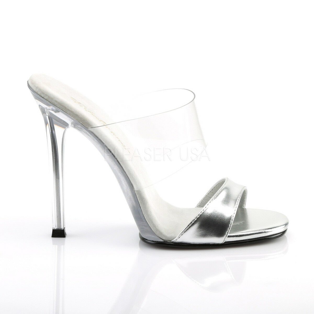 GALA-02L New Clear Posing Fitness Competition comp Heel Fast Post Size 6 - 39
