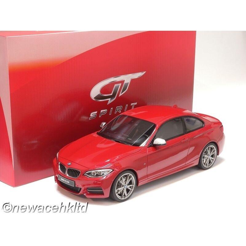 BMW M235i rosso GT Spirit Modelo 1 18  GT039
