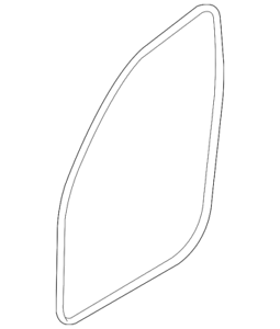 Genuine BMW Weather-Strip On Body 51727303968