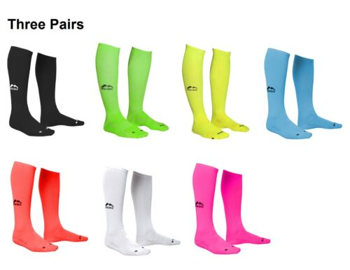 3 PAIRS More Mile Mens Womens California Compression Running Socks