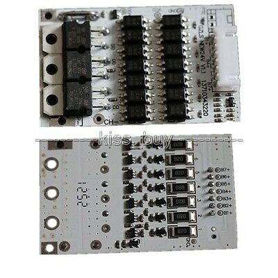 7S cells 24v 18A balancing Li-ion Lithium 18650 Battery BMS Protection Board