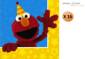Sesame-Street-Party-Lunch-Napkins-16-Pack-Party-Supplies-FREE-SHIPPING