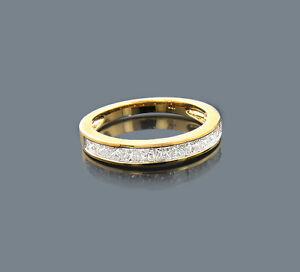 Anillo-Princesa-Diamantes-10-Quilates-410-Oro-Amarillo-Wesselton-1-00-Nuevo