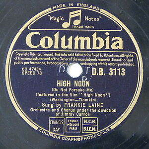 78-record-in-frame-HIGH-NOON-ROCK-OF-GIBRALTA-frankie-laine
