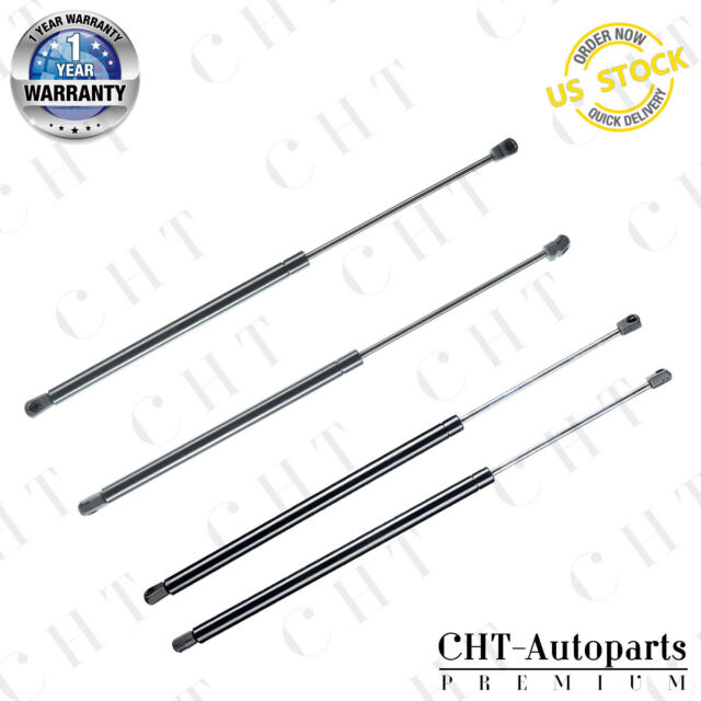 4PCS Hood+Tailgate Lift Supports Shocks For Acura MDX 2001