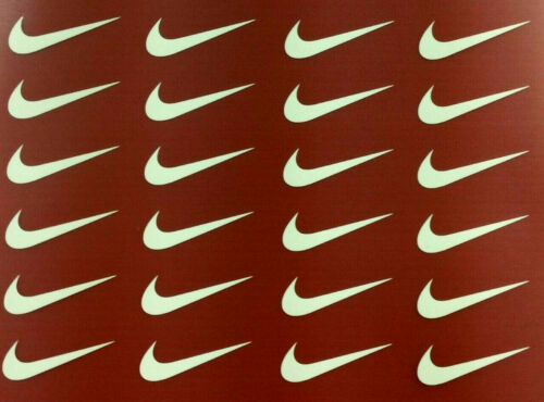 "SET OF 24  Iron-on  /""NIKE/""    FREE SHIPPING /& 3 FREE GIFTS"