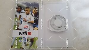 PSP-Playstation-Portable-FIFA-10-dans-l-039-emballage-utilise