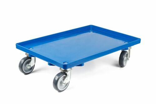 Transportroller Rollwagen Rollbrett für Euroboxen Bäckerkisten Fleischerkästen