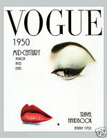 Vogue Reproduction Art Poster/print/model/vogue Cover/fashion