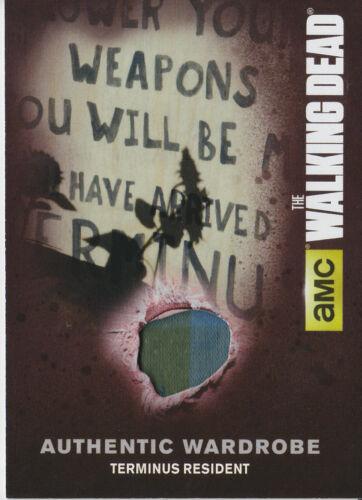 The Walking Dead Season 4//1 M18 Wardrobe Card Terminus Resident