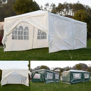 Image is loading Outdoor-Party-Wedding-10-039-x20-039-Canopy- & Outdoor Party Wedding 10u0027x20u0027Canopy Tent Heavy duty Gazebo ...