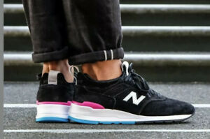 Details about NEW BALANCE 997 MADE IN USA BLACK/PINK/BLUE SIZE 8.5 NEW WITHOUT BOX (M997VB2)
