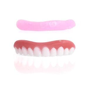 1pc Denture Paste Instant Teeth Flex Silicone Men Women Perfect Smile Veneers 803015471588