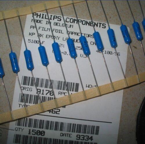 Polypropylene Film Capacitors KP462 Type 5100PF 5N1 5.1NF 250V ±2/% For PHILIPS