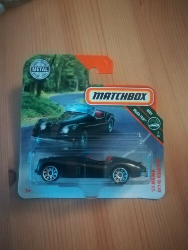 Matchbox 56 Jaguar XK140 Roadster 3//35 1:64 3//125 2018 Mattel