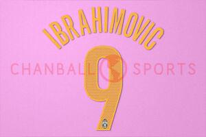 a1bba5f54 Image is loading Ibrahimovic-9-2004-2005-Juventus-Awaykit-Nameset-Printing