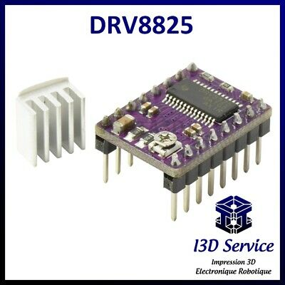 5pcs 9x9x12mm Heat Sink For 3D Printer Ramps DRV8825 A4988 Stepper Motor Drivers