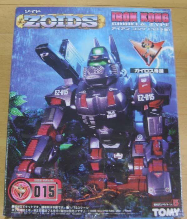 ZOIDS IRON KONG GORILLA TYPE 1 72 SCALE EZ-015