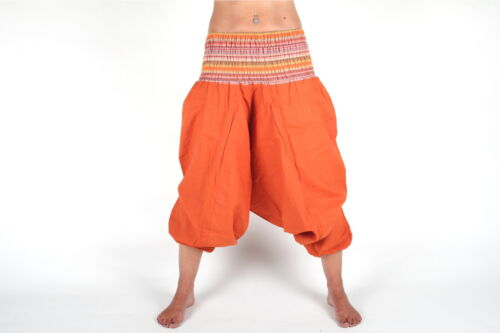 Brève Aladinhose//taille unique en 6 Couleurs Pantalon Bouffant Goa Harem Pluderhose