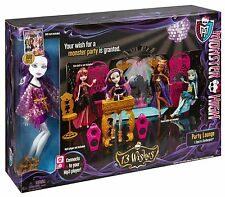 COFFRET MONSTER HIGH 13 PARTY LOUNGE SPECTRA DOLL MALEFIQUE MP3