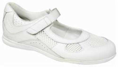 Drew Women/'s Delite Orthopedic Shoe White Calf Mesh